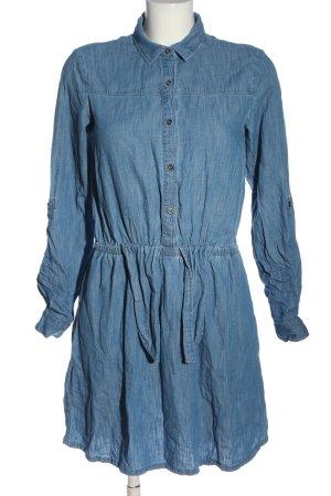 Promod Vestido vaquero azul look casual