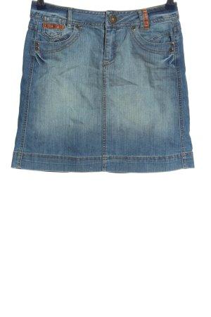 Promod Jeansrock blau Casual-Look