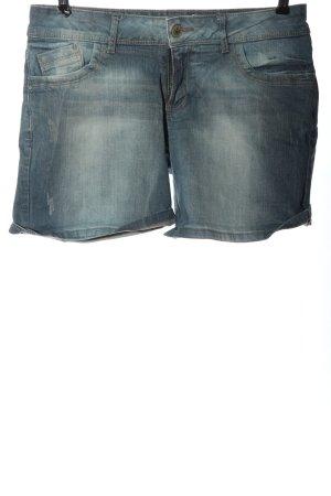 Promod Short en jean bleu style décontracté