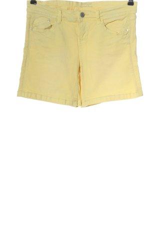 Promod Jeansshorts blassgelb Casual-Look