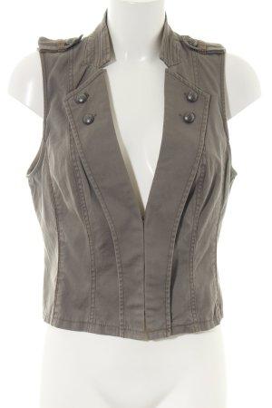 Promod Jeansweste khaki Casual-Look