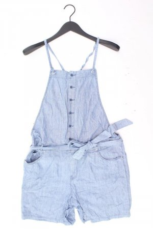 Promod Jumpsuit Größe 42 blau aus Baumwolle