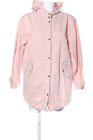 Promod Manteau à capuche rose style décontracté