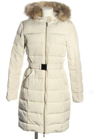 Promod Płaszcz z kapturem w kolorze białej wełny W stylu casual