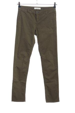 Promod Spodnie khaki khaki W stylu casual