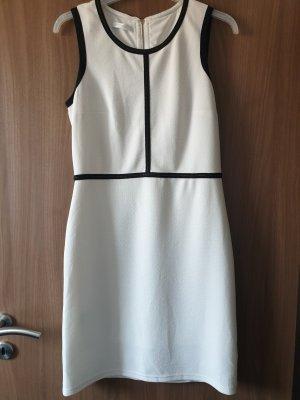 Promod Sukienka mini biały-czarny