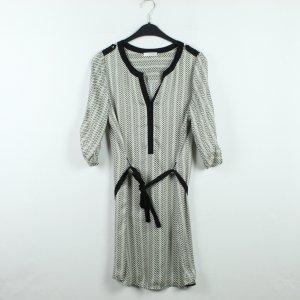 PROMOD Kleid Gr. 38 schwarz weiß gemustert (20/01/030)