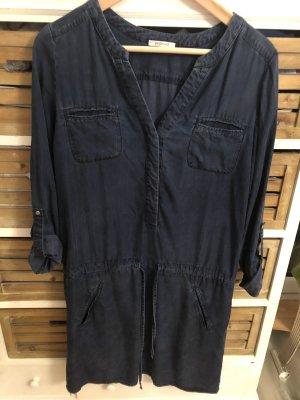 Promod Kleid Lyocell Gr. 34 / XS jeans blau