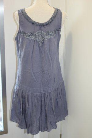 Promod Kleid Taupe Blau Gr 40