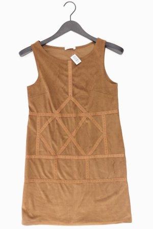 Promod Kunstlederkleid Größe S Träger mit Nieten braun