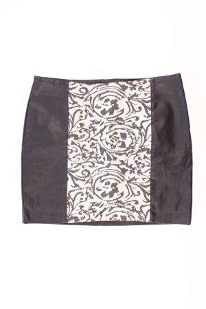 Promod Spódnica z imitacji skóry czarny