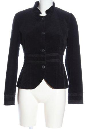 Promod Korte blazer zwart casual uitstraling