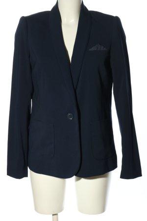 Promod Kurz-Blazer blau Business-Look