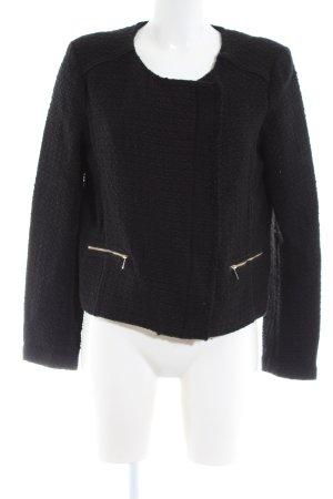 Promod Korte blazer zwart zakelijke stijl