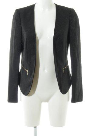 Promod Kurz-Blazer schwarz schlichter Stil