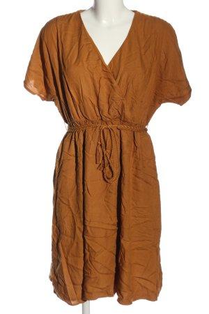 Promod Abito a maniche corte arancione chiaro stile casual