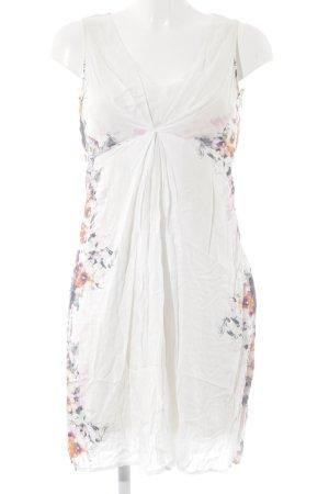 Promod Jurk met korte mouwen bloemenprint romantische stijl