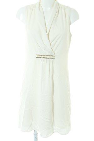 Promod Sukienka z krótkim rękawem biały Ekstrawagancki styl