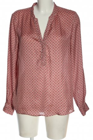 Promod Langarm-Bluse Allover-Druck Casual-Look