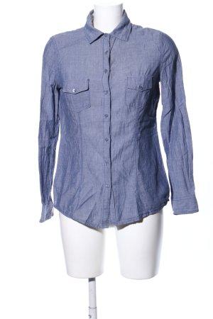 Promod Langarm-Bluse blau Casual-Look