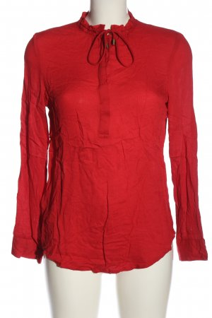 Promod Langarm-Bluse rot Casual-Look