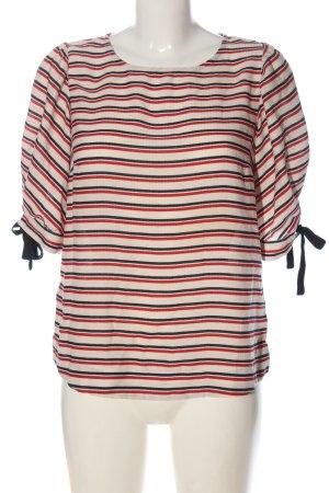 Promod Langarm-Bluse Streifenmuster Casual-Look