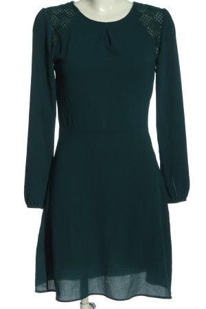 Promod Langarmkleid grün Casual-Look