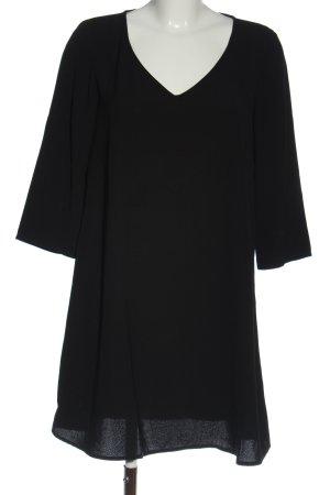 Promod Langarmkleid schwarz Elegant