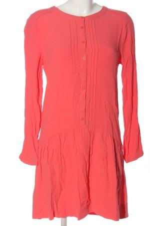 Promod Langarmkleid pink Casual-Look