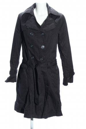 Promod Trenchcoat hellgrau Casual-Look