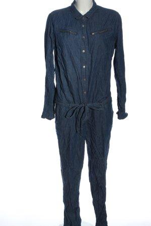Promod Langer Jumpsuit bleu élégant