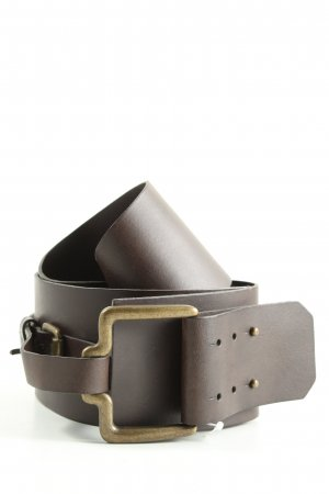 Promod Cintura in ecopelle marrone stile casual
