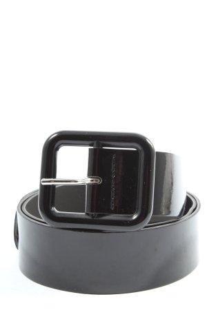 Promod Faux Leather Belt black casual look