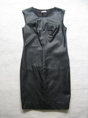 Promod Leather Dress black imitation leather