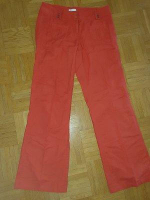 Promod Marlene Trousers red linen