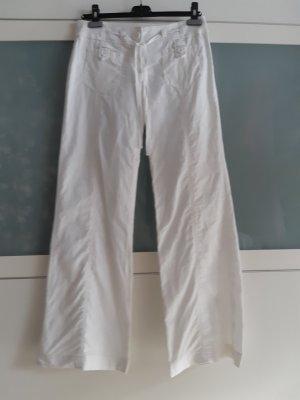 Promod Pantalone di lino bianco