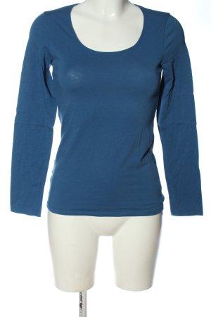 Promod Longsleeve blau Casual-Look