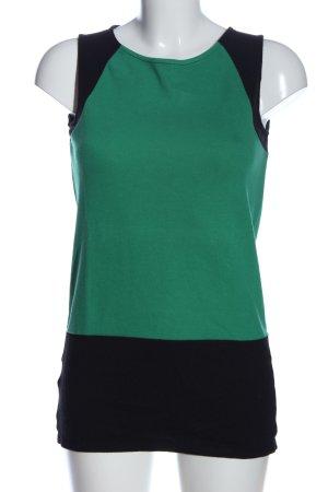 Promod Lange top groen-zwart casual uitstraling