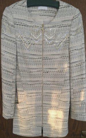 Promod Abrigo de entretiempo color plata-gris claro