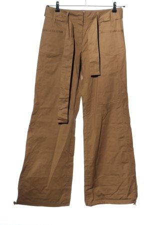 Promod Pantalón anchos marrón look casual