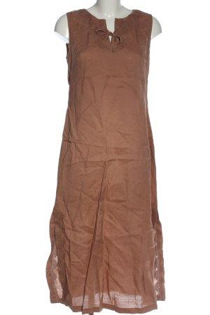 Promod Sukienka maxi brązowy W stylu casual