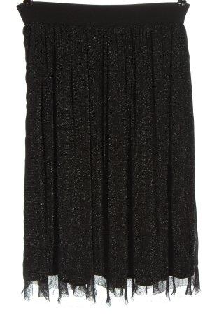 Promod Falda de tul negro look efecto mojado
