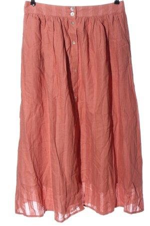 Promod Spódnica midi jasny pomarańczowy W stylu casual