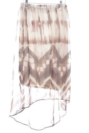 Promod Spódnica midi Abstrakcyjny wzór W stylu casual