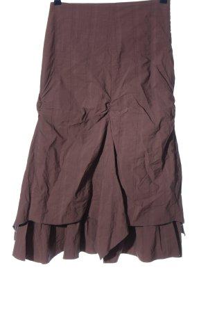 Promod Spódnica midi brązowy W stylu casual