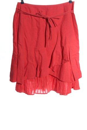Promod Spódnica midi czerwony W stylu casual