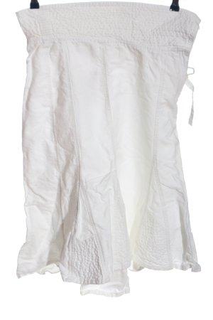 Promod Spódnica midi biały Pikowany wzór W stylu casual