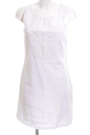 Promod Minikleid weiß Casual-Look