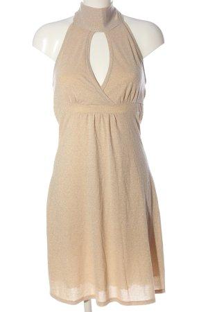 Promod Minikleid creme-goldfarben Casual-Look