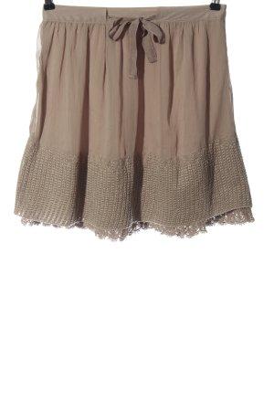 Promod Mini-jupe crème style décontracté